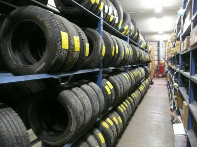 Our Waukesha salvage yard has all sizes of used tires from junk yards in Milwaukee and surrounding areas.
