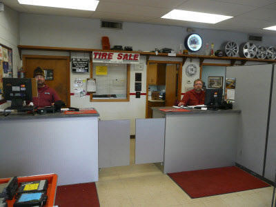 Interior of B&M Auto Sales and Parts Waukesha