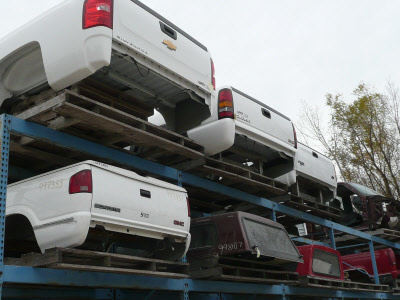 F150 Truck Bed Replacement >> Used Truck Beds And Caps For Sale At Waukesha Auto Salvage Yard