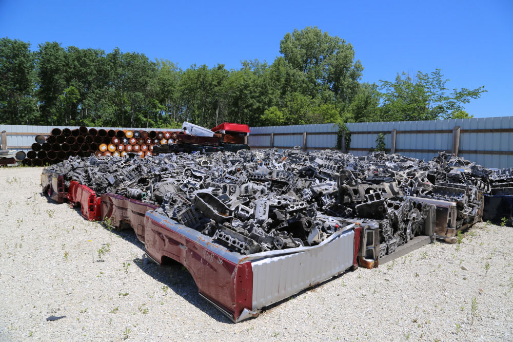 Auto parts for recycling